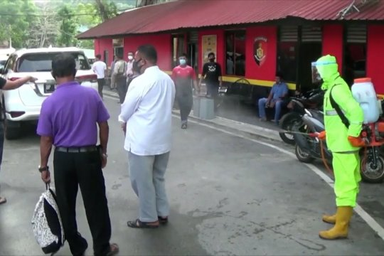 Polresta Barelang jemput 15 warga perampas jenazah pasien COVID-19