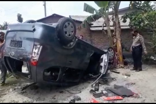 Kepala dusun pelindung bandar narkoba ditangkap karena merusak mobil BNN