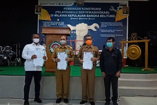BJK WIL II Palembang gelar pelatihan dan uji kompetensi tenaga kerja konstruksi