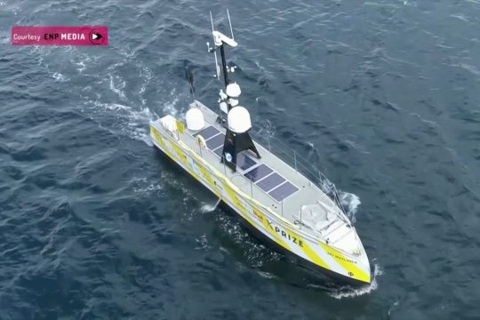 Kapal penelitian nirawak jelajahi dasar Samudera Atlantik 22 hari