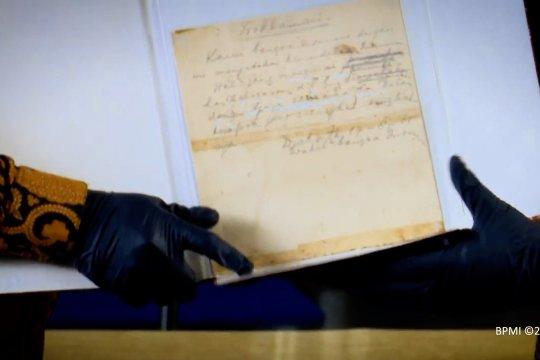 Naskah asli Teks Proklamasi akan ditampilkan di Istana Merdeka