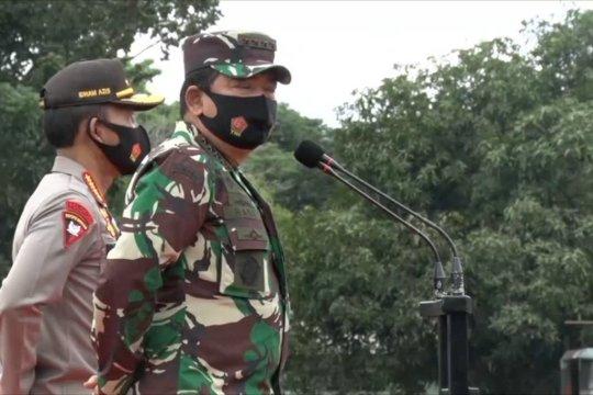 Panglima TNI dan Kapolri lepas Satgas Pendisiplinan Protokol COVID-19 Papua