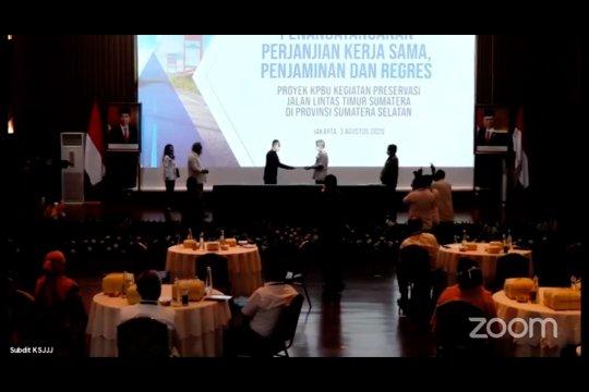 Pemerintah akan putus kerja sama dengan yang tak kompeten di Jalintim Sumatera