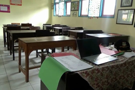 Sejumlah sekolah di Pandeglang kembali tiadakan pembelajaran tatap muka