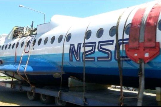 Setelah perjalanan 2 hari, pesawat N250 Gatotkaca tiba di Yogyakarta