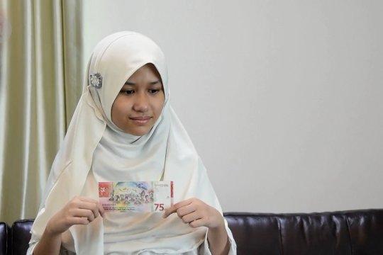 Banjir ucapan selamat untuk bocah Riau di uang Rp75 ribu