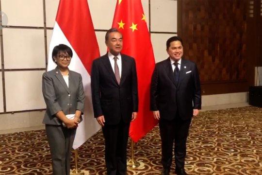 Erick Thohir & Retno Marsudi bertemu Pemerintah China