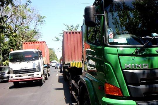 Sopir truk kontainer di Surabaya jalani ujian sertifikasi kompetensi