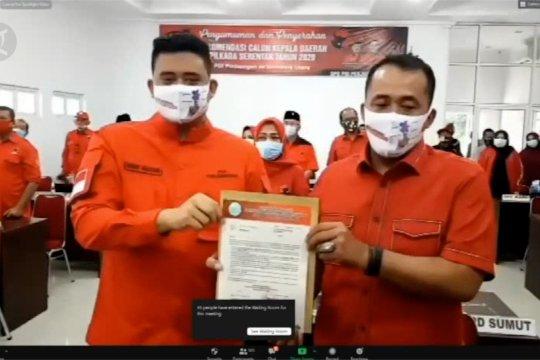 Umumkan 75 paslon, PDIP usung Bobby Nasution di Pilkada Medan