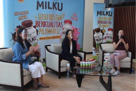 Penuhi kebutuhan nutrisi anak dengan susu