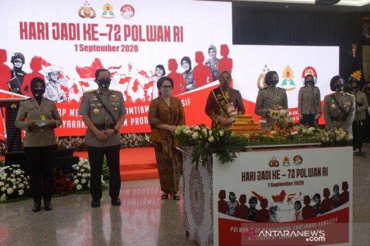 Kapolri: Polwan dan polisi laki setara dalam berkarier di Polri