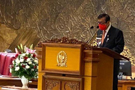Yasonna: UU MK jadi dasar yuridis tetapkan syarat Hakim Konstitusi