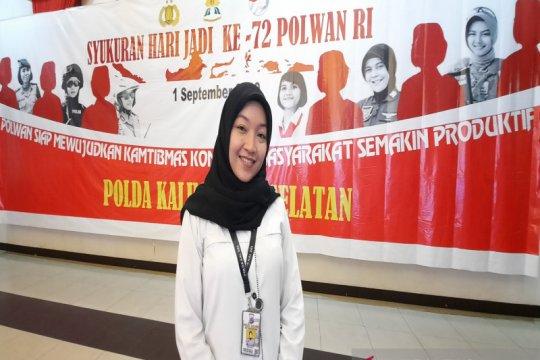 Briptu Sheren Septiana, Polwan berprestasi internasional