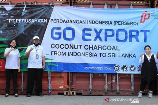 Bantu pemulihan ekonomi, PPI ekspor Coconut Charcoal ke Sri Lanka