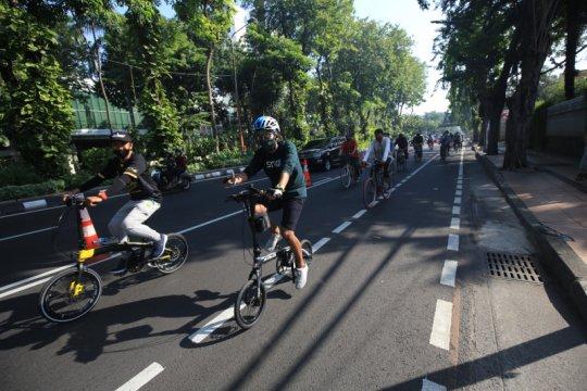 """Dishub Surabaya siapkan layanan pinjam sepeda """"bike sharinggowes"""""""