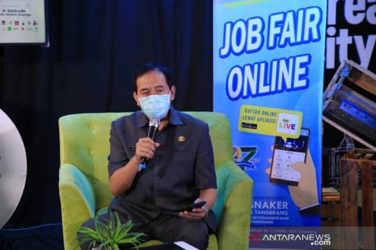 Pemkot Tangerang gelar bursa kerja secara virtual 1-5 September