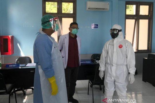 Ruang intensif rawat pasien COVID-19 di RSUDZA penuh