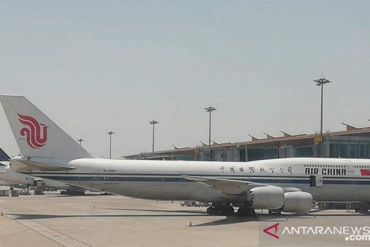 Penerbangan internasional langsung Beijing dibuka bertahap