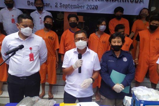Polda Bali ungkap 55 kasus peredaran narkoba selama Operasi Antik