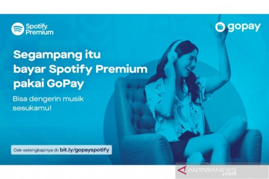 Berlangganan Spotify Premium kini bisa pakai GoPay