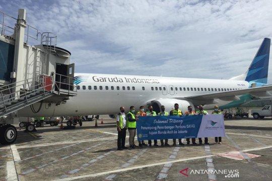 Garuda Indonesia tambah frekuensi penerbangan pagi di Aceh