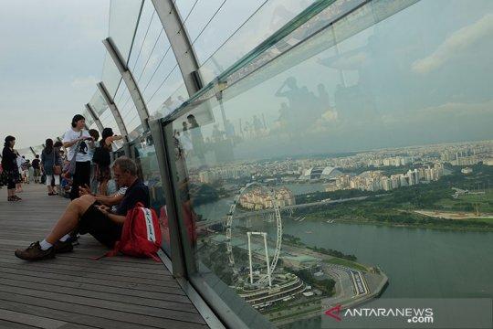 Singapura sambut wisatawan, berapa harga tiket pesawatnya?