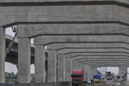 Progres proyek pembangunan Kereta Cepat Jakarta-Bandung
