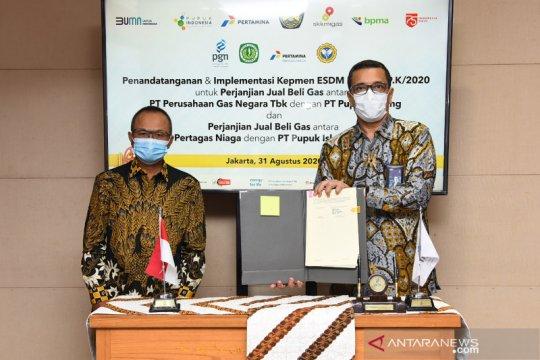 Kontribusi PGN untuk kebutuhan gas industri pupuk