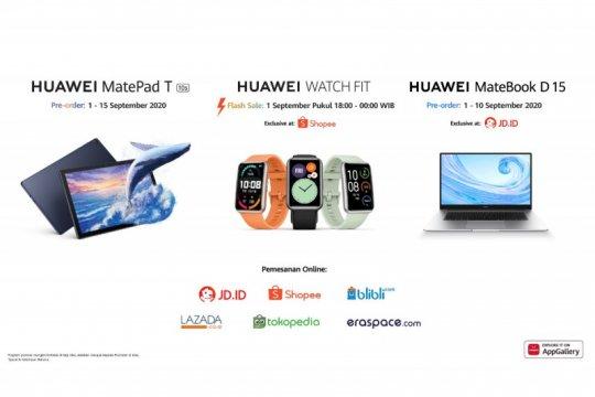 Huawei luncurkan MateBook D15 dan MatePad T10s