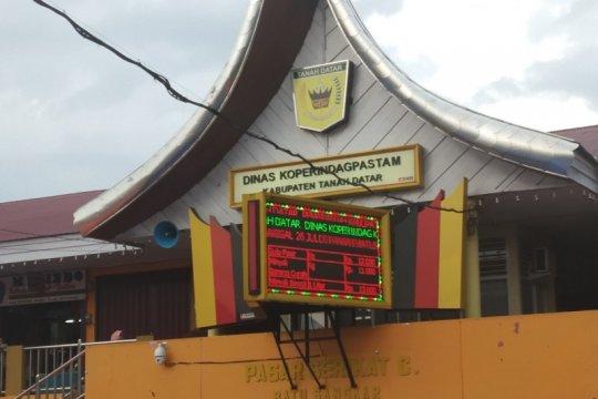 Pemkab Tanah Datar segera terapkan e-Retribusi di Pasar Batusangkar