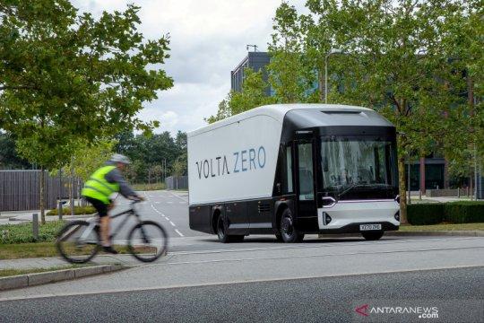 Truk listrik Volta Zero dari Swedia akan dibuat di Inggris