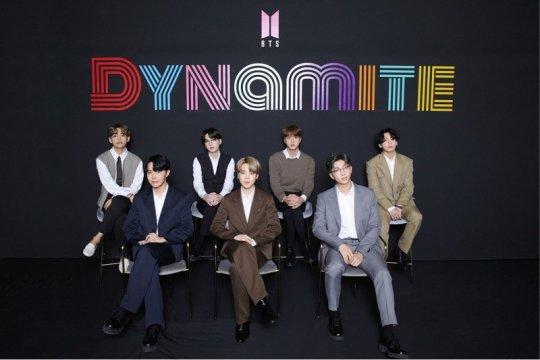 "BTS rebut gelar Guinness World Records dengan ""Dynamite"""