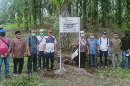 KPK sita lahan sawit 33 ribu meter persegi terkait kasus Nurhadi