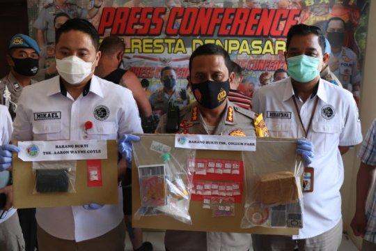Dua WNA asal Inggris dan Australia  ditahan karena edarkan narkoba