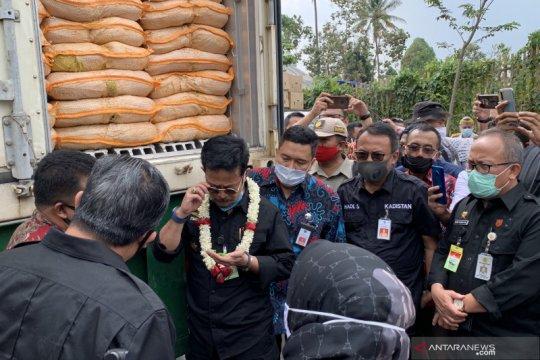 Mentan lepas ekspor produk hortikultura asal Malang ke Taiwan