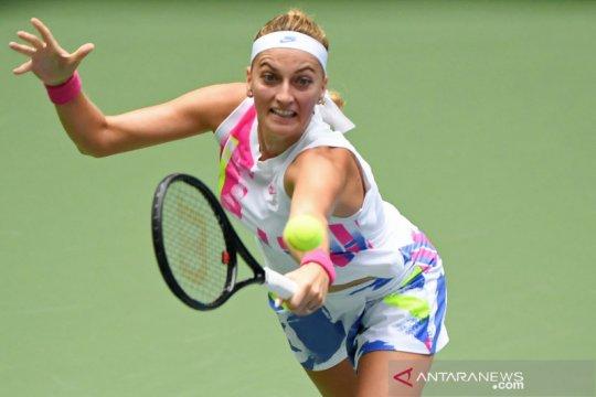 Kvitova puas atasi Paolini dua set langsung di French Open