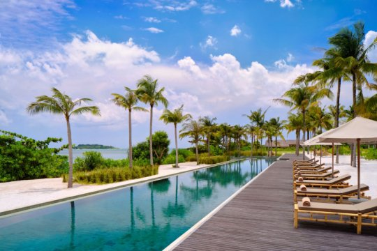 Ada resor tepi pantai baru di pulau Belitung