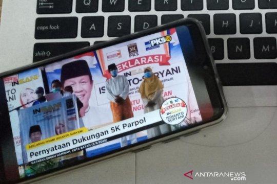 Isdianto-Suryani deklarasi maju Pilkada Kepri 2020