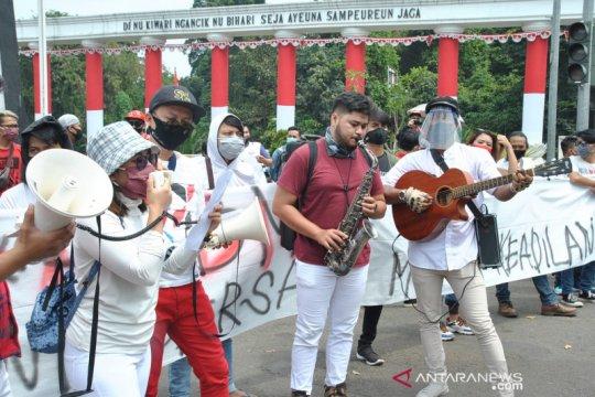 Aksi damai musisi Bogor