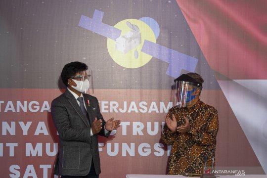 Alasan Indonesia pakai roket milik Elon Musk untuk Satelit Satria