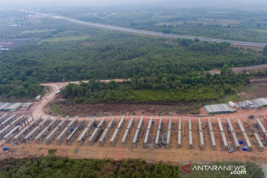 Pembangunan tol Indralaya - Prabumulih
