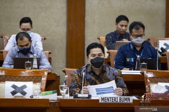 Raker Komisi VI dengan Menteri BUMN