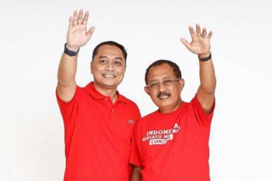 Pasangan Bacawali Eri-Armuji daftar ke KPU Surabaya 4 September