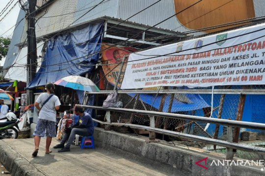 Pemkot Jaksel pastikan penataan pedagang Pasar Minggu terus berjalan