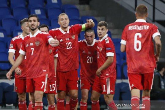 Rusia awali penampilan di Nations League dengan tundukkan Serbia 3-1