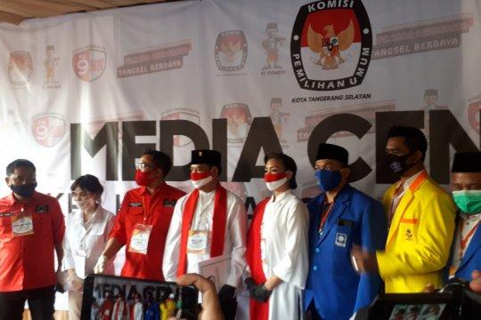 Pilkada Tangsel, Muhammad-Saraswati daftar ke KPU naik oplet