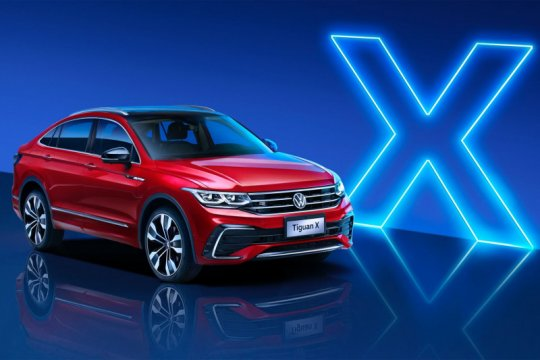 VW Tiguan X coupe mendarat di China
