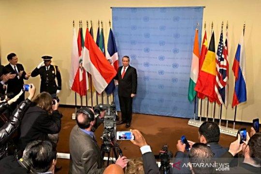 Di bawah kepemimpinan Indonesia, DK PBB hasilkan empat resolusi