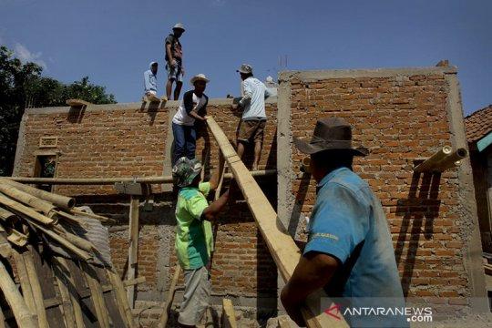 Kementerian PUPR: Penyerapan padat karya bedah rumah capai 84,3 persen