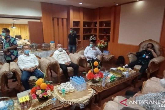 Mohamad Hidayat resmi lepas jabatan Sekda untuk maju pilkada Sulteng
